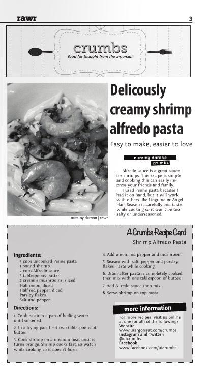 Creamy shrimp Alfredo pasta | Nurainy Darono