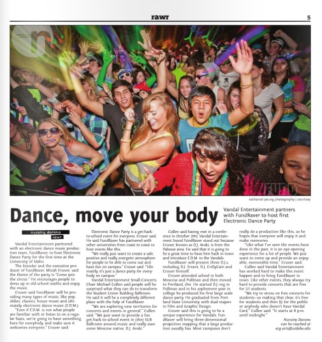 Dance, move your body | Nurainy Darono