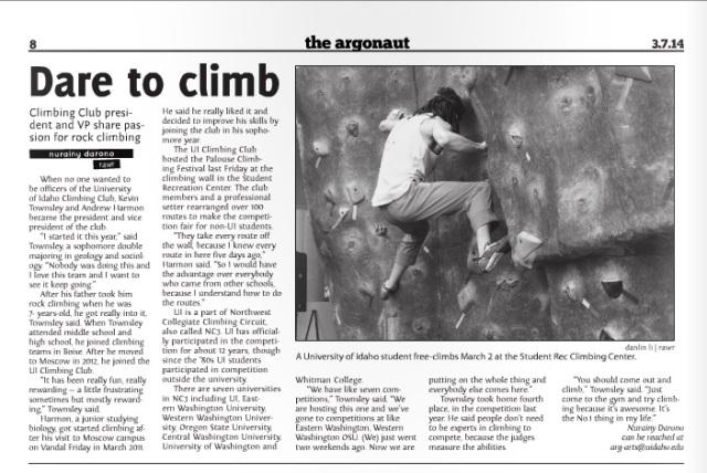 Dare to climb | Nurainy Darono