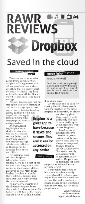 Saved in the cloud | Nurainy Darono