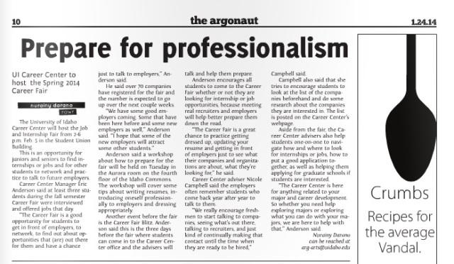 Prepare for professionalism | Nurainy Darono