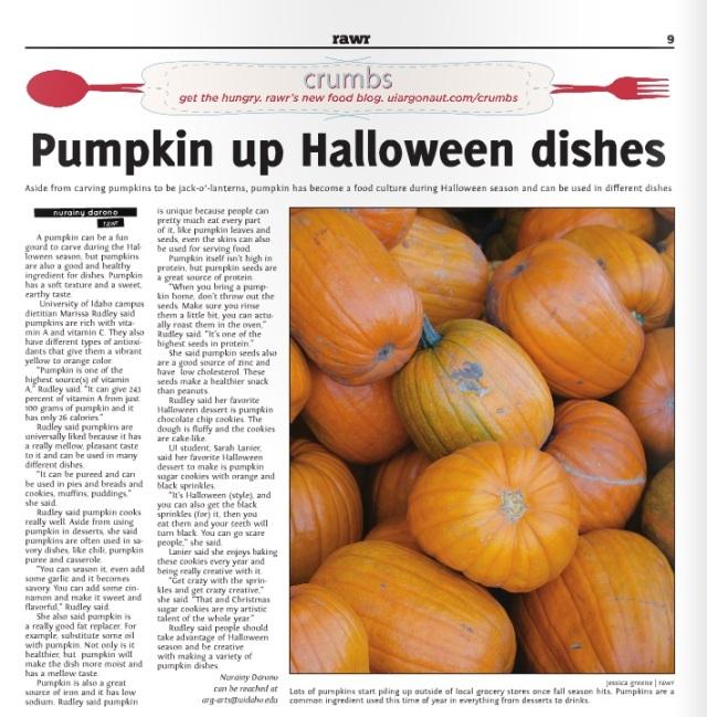 Pumpkin up Halloween dishes | Nurainy Darono