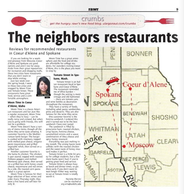 The neighbors restaurants | Nurainy Darono