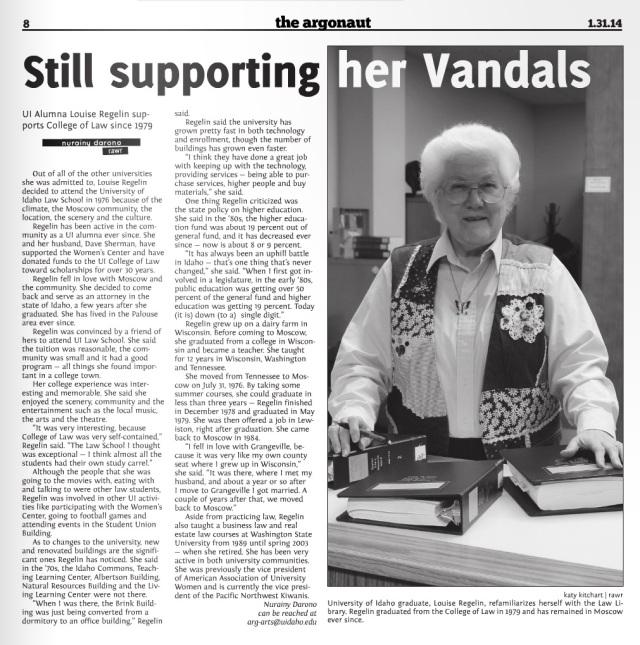 Still supporting her Vandals | Nurainy Darono