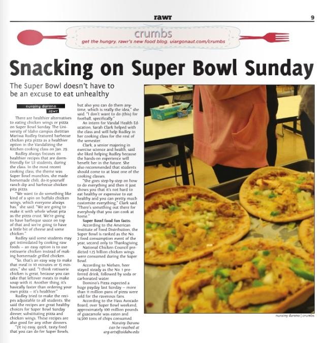 Superbowl muncies | Nurainy Darono
