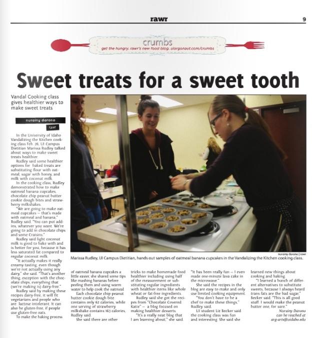 Sweet treats for a sweet tooth | Nurainy Darono