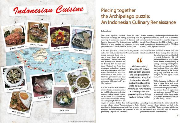 The magazine layout2