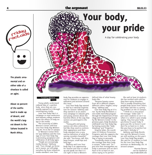 Your body, your pride | Nurainy Darono