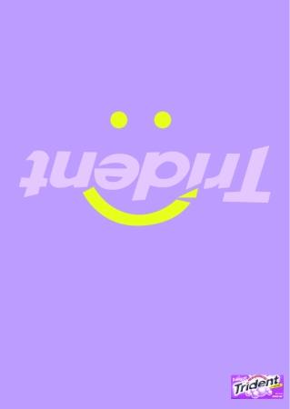 print ad purple