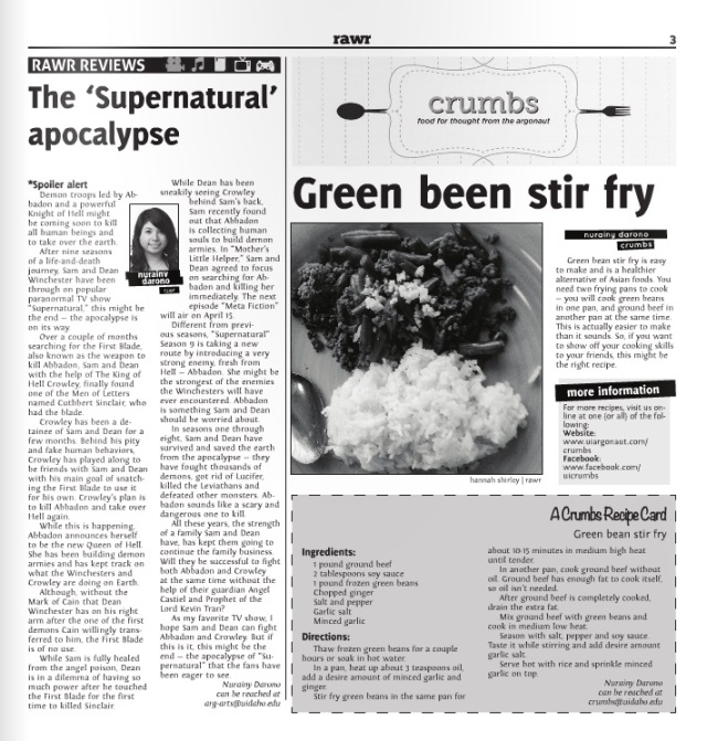 The 'Supernatural' apocalypse | Nurainy Darono