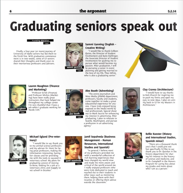 Graduating seniors speak out | Nurainy Darono